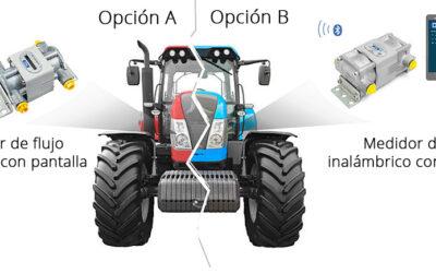 Control de consumo en maquinas agricolas